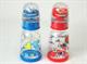 Детские товары Киев. Аксессуары.Бутылочки. LINDO 125 мл Бутылочка круглая с погремушкой и силиконовой соской