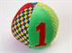 """Детские товары Киев. Детские игрушки.Настольные, развитие. LINDO Мягкая развивающая игрушка """"Мяч с цифрами"""""""