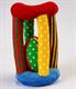 """Детские товары Киев. Детские игрушки.Настольные, развитие. LINDO Мягкая развивающая игрушка """"Барабан"""""""