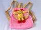 Детские товары Киев. Детские игрушки.Канцелярия, рюкзачки. LINDO Детский рюкзачок с мягкой игрушкой (супервелюр), 3 вида