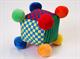 """Детские товары Киев. Детские игрушки.Настольные, развитие. LINDO Мягкая развивающая игрушка """"Чудесный куб"""""""