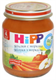 Детские товары Киев. Детское питание.Пюре фруктовое . HIPP Яблоки с морковью 125гр (упаковка 6 шт.)