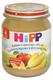Детские товары Киев. Детское питание.Пюре фруктовое . HIPP Бананы и персики в яблочном пюре 125гр (упаковка 6 шт.)