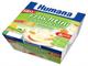 Детские товары Киев. Детское питание.Фрукты, йогурт,сыр. HUMANA Йогурт-десерт Яблоко-абрикос 400гр