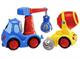 Детские товары Киев. Детские игрушки.Игровые наборы. CHICCO Набор: машинка-кран + бетономешалка