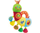 """Детские товары Киев. Детские игрушки.Электронные, роботы. CHICCO Игрушка музыкальная """"Гусеница"""""""