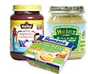 Детские товары Киев. Детское питание. фрукты, йогурт,сыр