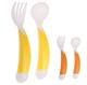 Детские товары Киев. Аксессуары.Посуда. BEBE-CONFORT Ложка и вилка эргономичные