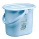 Детские товары Киев. Купание.Полезные мелочи. BEBE-JOU Ведро для воды 14л (голубой)