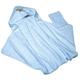 Детские товары Киев. Купание.Полезные мелочи. BEBE-JOU Полотенце с капюшоном махровое (голубой)