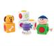 Детские товары Киев. Детские игрушки.Игровые наборы. CHICCO Первый конструктор, 9м+