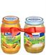 Детские товары Киев. Детское питание.Пюре мясо-овощное. HUMANA картофель c морковью и цыплёнком 220гр + персик-маракуйя с йогуртом