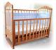 Детские товары Киев. Детская мебель.Мебель для детской. детская кроватка Верес Соня ЛД-5 с ящиком (бук, орех, ольха)