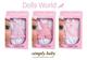 Детские товары Киев. Детские игрушки. Dolls World Платье для пупса SimplyBaby, 3 ассорт.