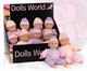Детские товары Киев. Детские игрушки. Dolls World Пупс, 25см,  2 в ассорт.