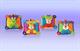 """Детские товары Киев. Детские игрушки.Мягкие игрушки-грызуны. NUBY Мягкая игрушка с прорезователем """"Обнимашки"""" (обезьянка, лев, лягушонок, медвеженок) 4+"""