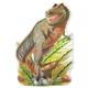 Детские товары Киев. Детские игрушки.Пазлы. Melissa & Doug Динозавр T-Rex - напольный пазл, 48 эл.