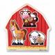 Детские товары Киев. Детские игрушки.Пазлы. Melissa & Doug Животные с фермы - формовой пазл