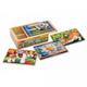 Детские товары Киев. Детские игрушки.Игровые коврики. Melissa & Doug Домашние животные - набор из 4 пазлов