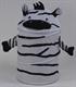Детские товары Киев. Детские игрушки.Бочки и корзины для игрушек. Bruno Bear Бочка для игрушек - Зебра, 46х75см
