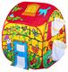 Детские товары Киев. Детские игрушки.Домики и палатки самораскладные. Bruno Bear  Волшебный домик с корзинами для мячей, 90х90х100см