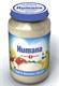 Детские товары Киев. Детское питание.Фрукты, йогурт,сыр. HUMANA (Хумана) БИО Яблочно-банановое пюре с творожком 190гр