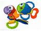 """Детские товары Киев. Аксессуары.Прорезыватели. NUBY Погремушка """"Рыбка"""", """"Папугай"""" (світло і музика) 3+"""