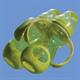 Детские товары Киев. Аксессуары. NUBY  Бутылочка Пляшечка зі стандартним горлом, соска-непроливайка, колір в асорт.5 (210ml) 0+